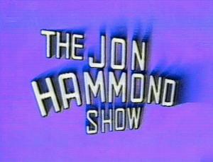 JON HAMMOND Show title 24th year