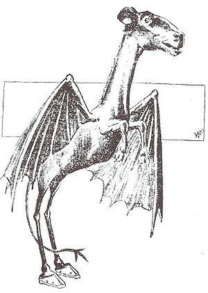 Jersey Devil strip from 1909