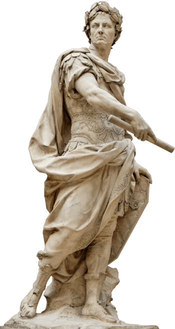 Sculpture of Julius Caesar by 17th century Fre...