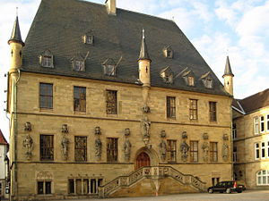 Deutsch: Rathaus Osnabrück