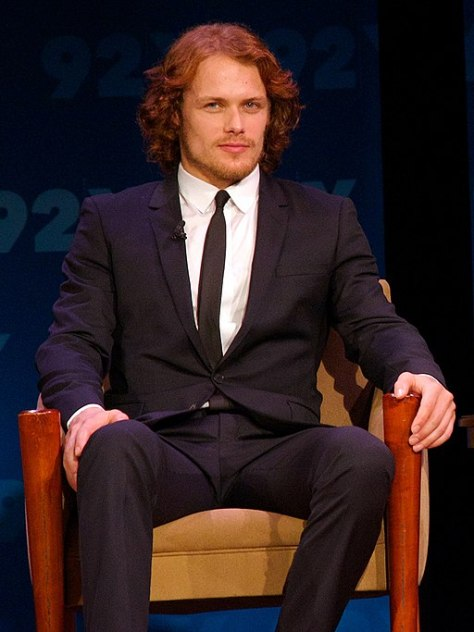 Outlander premiere episode screening at 92nd Street Y in New York 08 (crop)