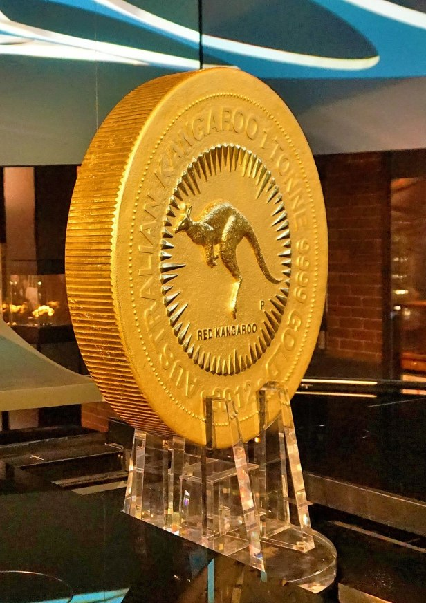 Perth Mint - Joy of Museums - The One Tonne Gold Coin