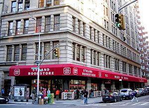 English: The Strand Book Store, Manhattan.