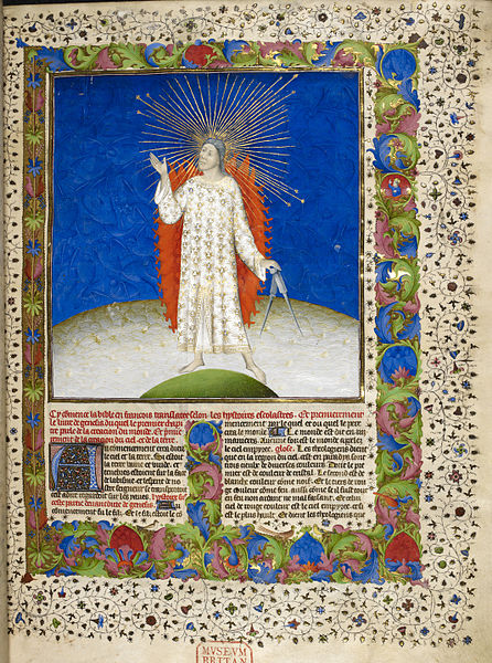File:The Creation - Bible Historiale (c.1411), vol.1, f.3 - BL Royal MS 19 D III.jpg