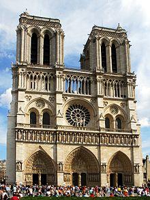 Catedral Notre Dame de Par�s, una de las más conocidas del mundo