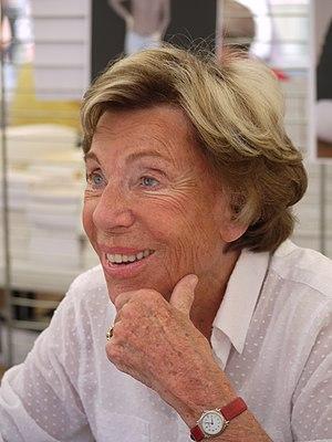 Benoite Groult - Comédie du Livre 2010 - P1390490