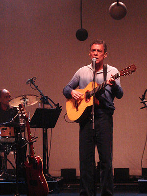 Chico Buarque at Porto Alegre, Brazil, March 2007