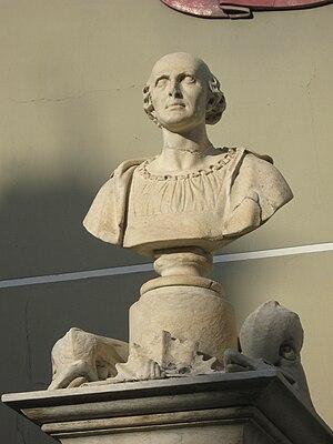 monumento a Cristoforo Colombo a Cogoleto, Italy