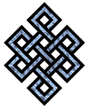 Tibetan endless knot