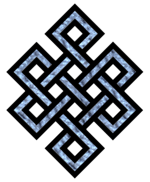 Tibetan endless knot