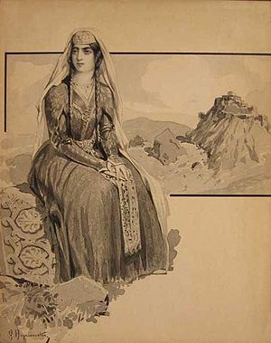 Henryk Hrynievski, Mother of Georgia (ქართლის ...