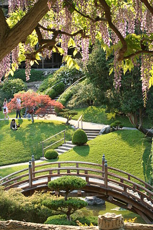 The Japanese Garden in Spring.