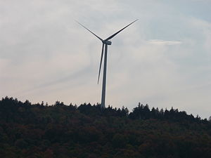 Lempster Wind Farm, in Lempster, New Hampshire