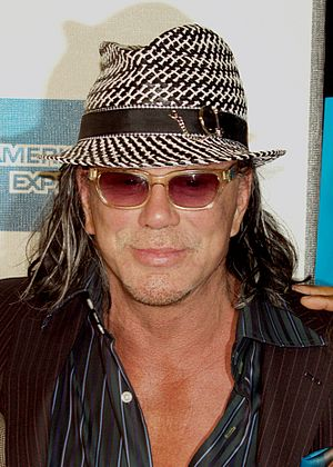 Mickey Rourke at the 2009 Tribeca Film Festiva...