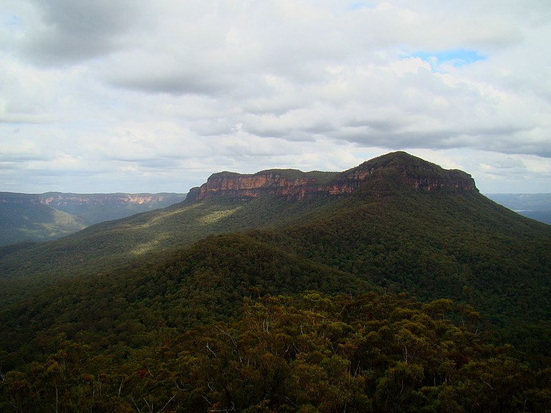 File:Mount Solitary From Ruined Castle.jpg