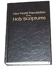 """""""Traducción del Nuevo Mundo de las Santas Escrituras en Inglés"""""""