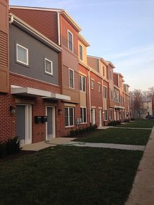 New Townhouses At Queen Lane