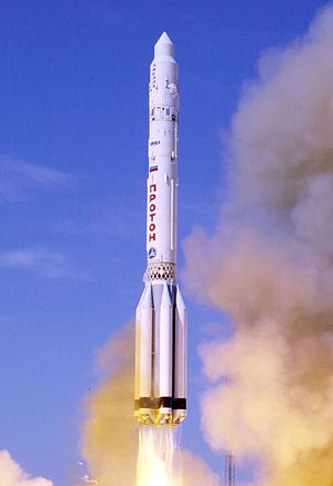 The launch of the Zvezda service module of the...