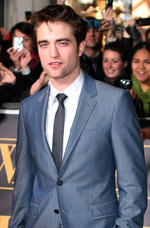 English: Robert Pattinson at the premiere for ...