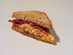 The Reuben sandwich: Possibly invented in Omah...