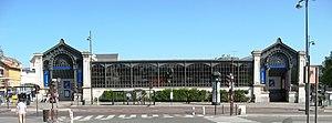 English: Versailles. The Rive-Gauche railways ...