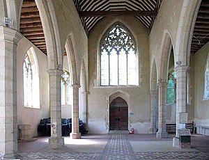 English: All Saints Church, Boughton Aluph, Ke...