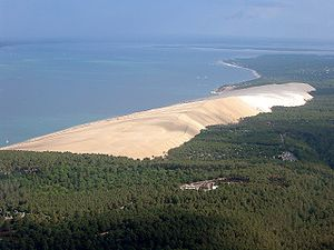 The Great Dune of Pyla is the largest dune in ...