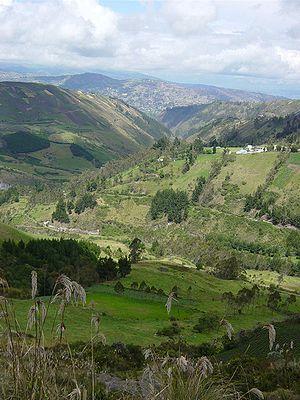 Ecuador landscape near Ambato1