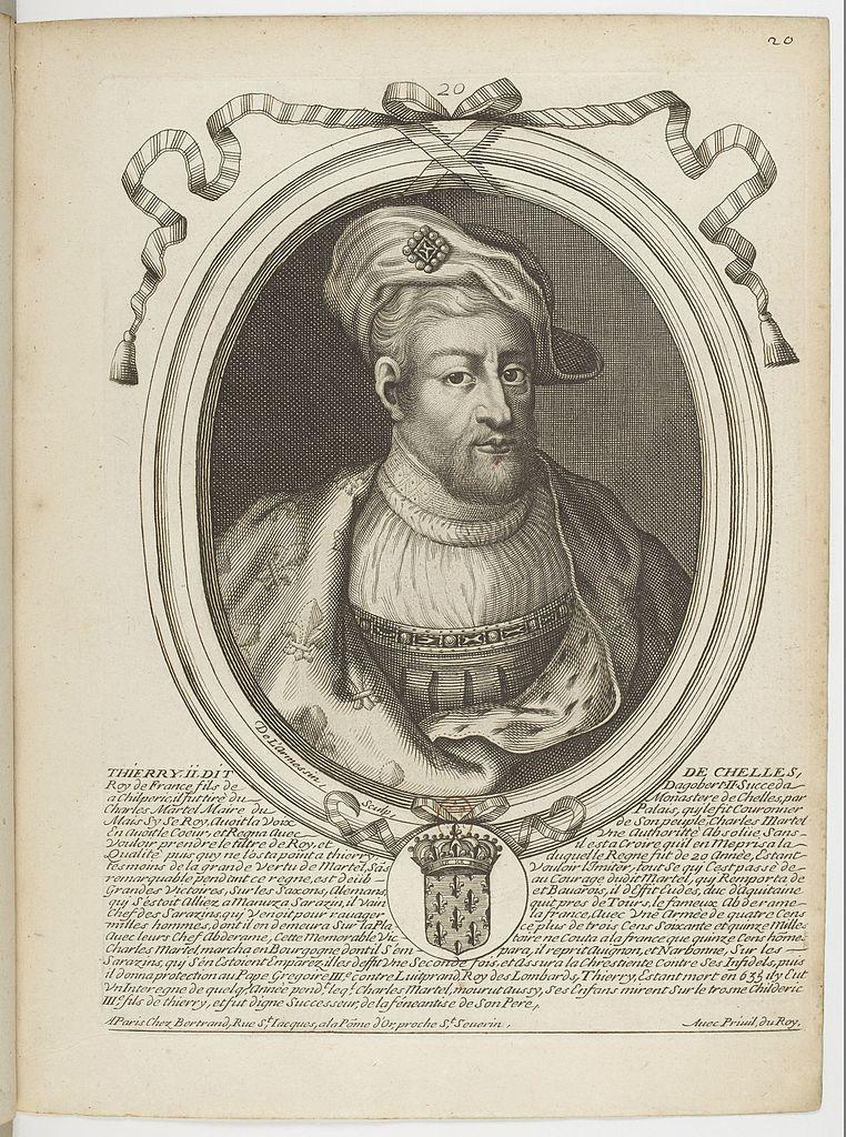 File Estampes Par Nicolas De Larmessin F029 Thierry Ii