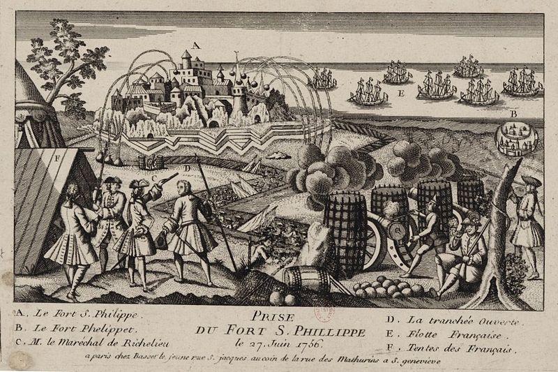 File:Prise du fort Saint Philippe a Minorque 1756.jpg