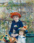 Renoir - The Two Sisters, On the Terrace