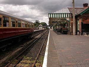 English: Sheringham Station