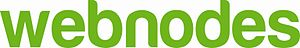 English: Logo of Webnodes CMS