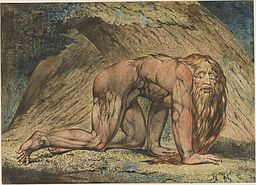 William Blake - Nebuchadnezzar (Minneapolis)