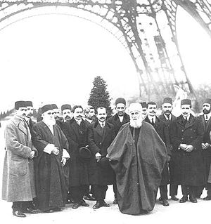 Abdul-Baha in Paris, France