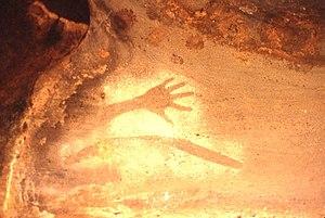 English: aboriginal site, australia