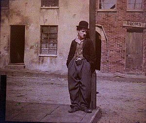 English: Portrait of Charlie Chaplin