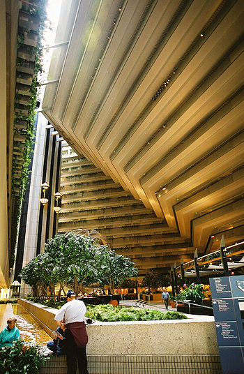 Embarcadero Hyatt Atrium, San Francisco