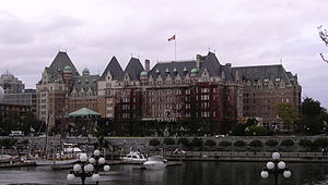 The Empress Hotel in Victoria, British Columbia