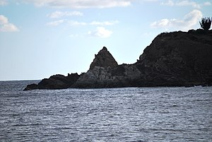 English: Far end of Punta Cometa, Mazunte, Oax...