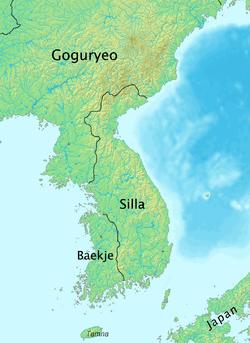 Lokasi Silla