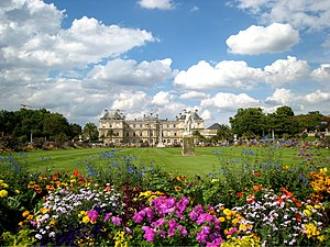 Jardin du Luxembourg and the Luxembourg Palace...