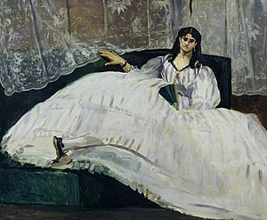Baudelaire's Mistress, Reclining represents Je...