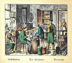 The tin-man Français : Le ferblantier