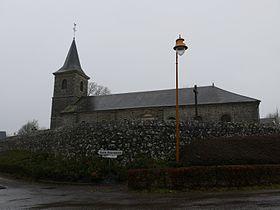 Eglise de Livaie GR22