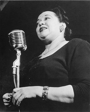 Portrait of Mildred Bailey, Carnegie Hall(?), ...