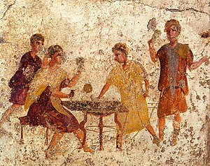 Dice players of antiquity