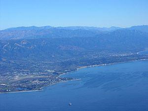 English: South Coast of Santa Barbara County. ...