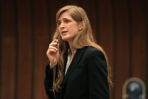 English: Samantha Power, Director of Multilate...
