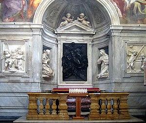 Santa Maria del Popolo, cappella Chigi, in Rom...
